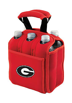 Picnic Time Georgia Bulldogs Beverage Buddy 6-Pack