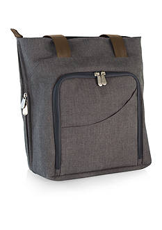 Picnic Time SONOMA WINE AND CHEESE TOTE - GRAY