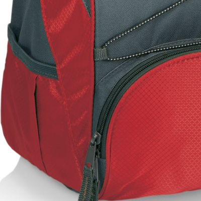 Tableware: Coolers & Totes: Red/Gray Picnic Time PTX Backpack Cooler - Online Only