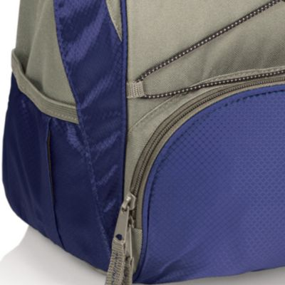 Tableware: Coolers & Totes: Navy/Gray Picnic Time PTX Backpack Cooler - Online Only