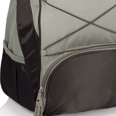 Tableware: Coolers & Totes: Black/Gray Picnic Time PTX Backpack Cooler - Online Only