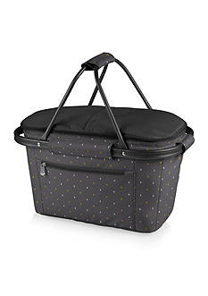 Picnic Time MARKET BASKET COLLAPSIBLE TOTE - ANTHOLOGY COLLECTION