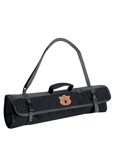 Picnic Time Auburn Tigers 3-piece BBQ Tote - Online Only<br>