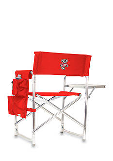 Picnic Time Wisconsin Badgers Sports Chair