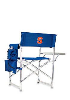 Picnic Time Syracuse Orange Sports Chair