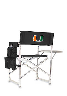 Picnic Time Miami Hurricanes Sports Chair