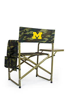 Picnic Time Michigan Wolverines Sports Chair