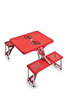 Picnic Time Louisville Cardinals Portable Picnic Table