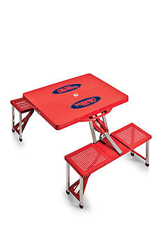 Picnic Time Ole Miss Rebels Portable Picnic Table