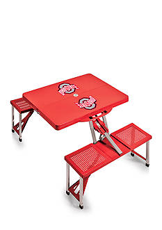 Picnic Time Ohio State Buckeyes Portable Picnic Table