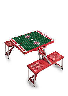 Picnic Time Wisconsin Badgers Portable Picnic Table