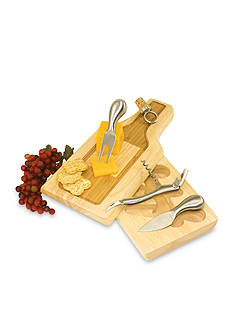 Picnic Time Silhouette Cheese Board Set