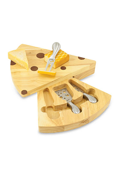Picnic Time Swiss Cheese Board Set