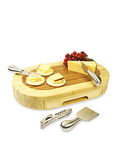 Picnic Time Formaggio Cheese Board and Tool Set