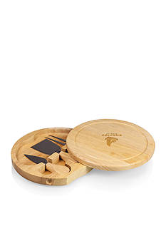 Picnic Time Atlanta Falcons Brie Cheese Board and Tools Set