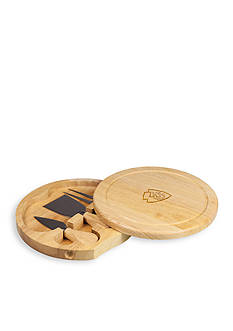 Picnic Time Kansas City Chiefs Brie Cheese Board and Tools Set