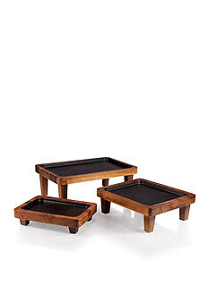 Legacy Heritage Collection by Fabio Viviani RACCOLTA SERVING PEDESTALS (SET OF 3)