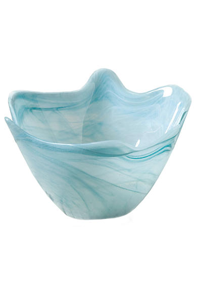Home Accents® Medium Blue Scallop Bowl - Online Only