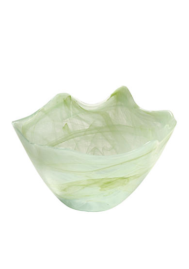 Home Accents® Large Green Scallop Bowl - Online Only