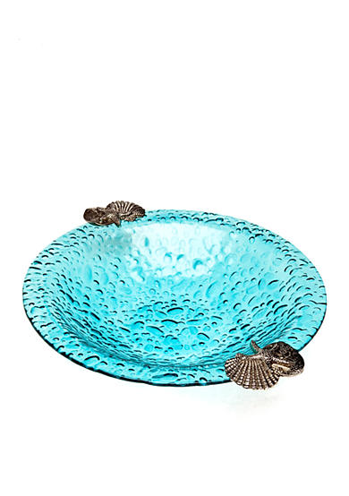 Home Accents® Blue Bubble Large Bowl