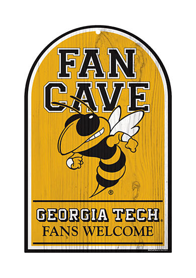 Wincraft Georgia Tech Yellow Jackets Fan Cave Sign
