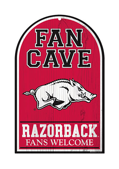 Wincraft Arkansas Razorbacks Fan Cave Sign