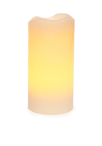 inglow® 6-in. Pillar Vanilla Melted Flameless Candle