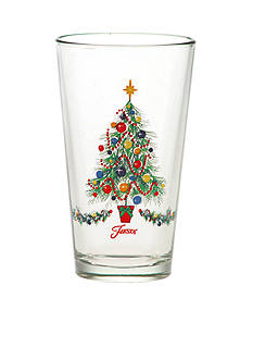 Fiesta® Christmas Tree Cooler Glass 16-oz.