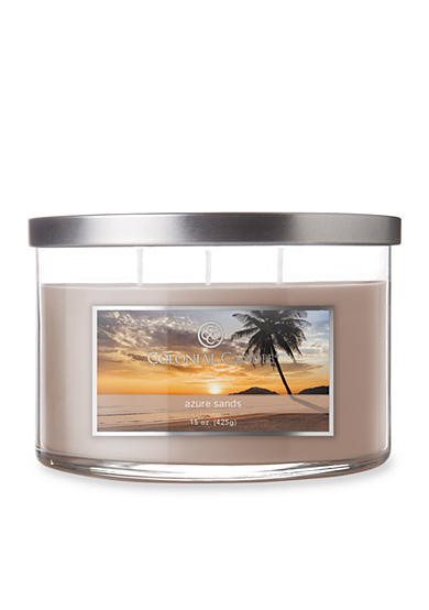 Colonial Candle® 15-oz. 3-Wick Azure Sands Candle