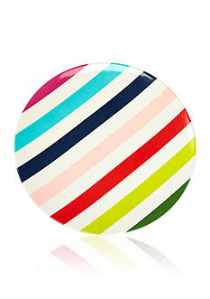 kate spade new york&reg; Multi Stripe Melamine Dinner Plate<br>