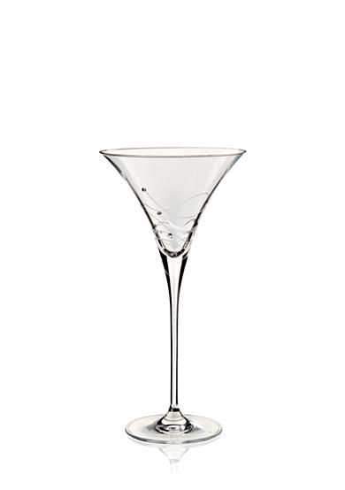 Dartington Crystal Glitz Martini Cocktail Glasses, Set of 2