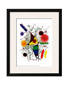 Art.com Le Chanteur, Framed Art Print, - Online Only