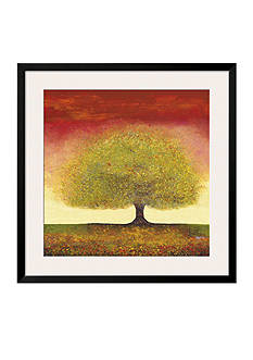 Art.com Dreaming Tree Red, Framed Art Print - Online Only