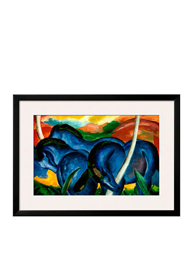 Art.com The Large Blue Horses, 1911, Framed Art Print - Online Only<br>