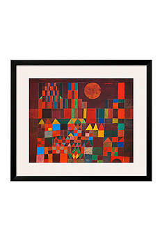 Art.com Castle and Sun by Paul Klee, Framed Art Print