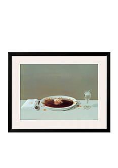 Art.com Pig in Soup, Framed Art Print - Online Only