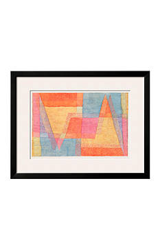 Art.com The Light and the Shade, c.1935 by Paul Klee, Framed Art Print