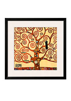 Art.com The Tree of Life, Stoclet Frieze, c.1909 (detail), Framed Art Print - Online Only