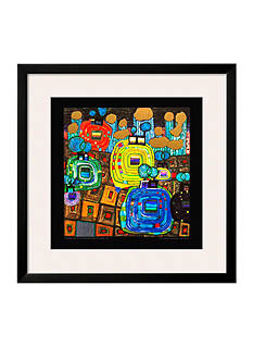 Art.com Pavilions and Bungalows for Natives and Foreigners, Framed Art Print - Online Only