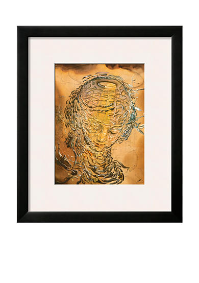 Art.com Raphaelesque Head Exploded, Framed Giclee Print