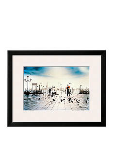Art.com II Bacio, Framed Art Print