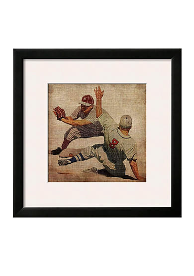Art.com Vintage Sports VII by John Butler, Framed Art Print