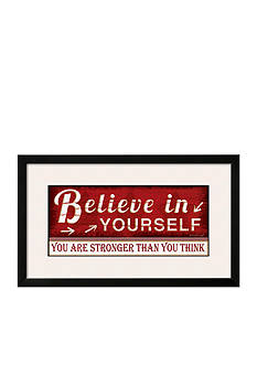 Art.com Believe in Yourself, Framed Art Print - Online Only