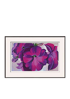 Art.com Petunias, c.1925, Framed Art Print