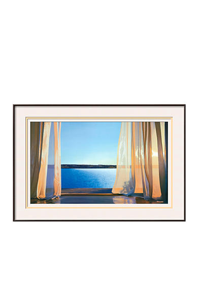 Artcom Long Golden Day Framed Art Print Belk