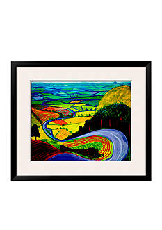 Art.com Garrowby Hill, Framed Art Print - Online Only