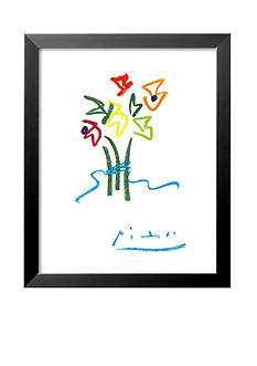 Art.com Evening Flowers, Framed Art Print - Online Only