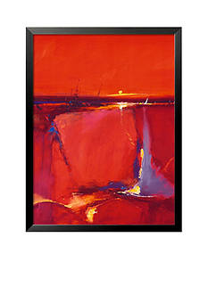 Art.com Red Horizon Framed Art Print Online Only