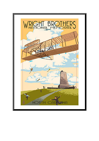 Art.com Wright Brothers National Memorial - Outer Banks, North Carolina by Lantern Press, Mounted Print