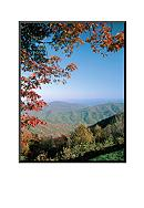 Art.com Green Knob Overlook, Blue Ridge Parkway,